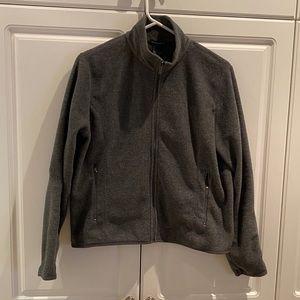 Champion Ladies Fleece Zip Up Jacket Size Small